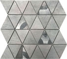 Mosaico Triangolo Light Grey